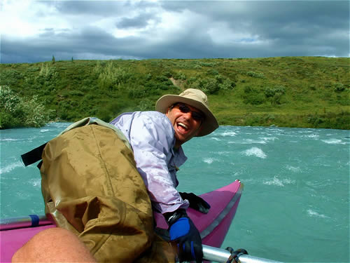 Trophy Smiles on the Upper Mulchatna River - Lake Clark National Park - ALASKA RAFT CONNECTION