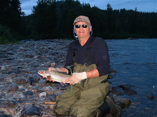 Wild catch and release Alaska Rainbow Trout - ALASKA RAFT CONNECTION