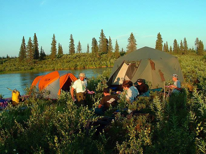 EXCEPTIONAL CAMPING ACCOMMODATIONS - ALASKA RAFT CONNECTION & ALASKA RAFT CONNECTION RAFT AND KAYAK SERVICES - ALASKA RAFT ...